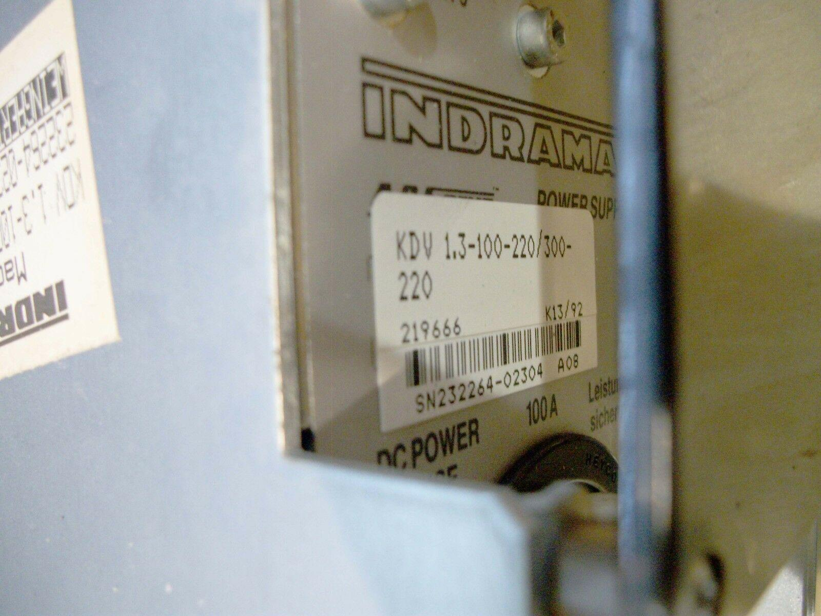 Indramat Power Supply Model KOV 1.3-100-220/300-220