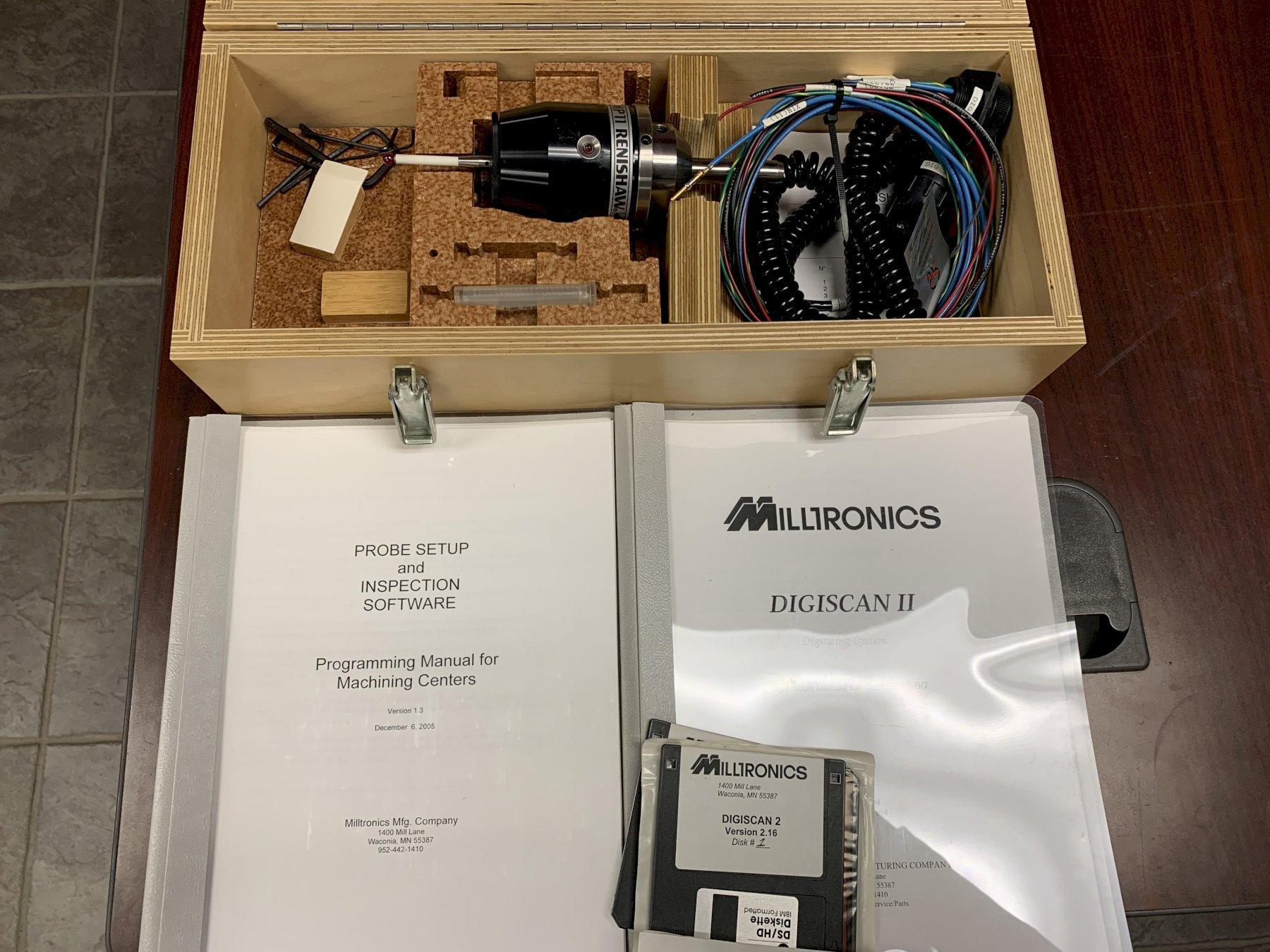 Milltronics Digiscan II Digitizing Probe / Renishaw MP11