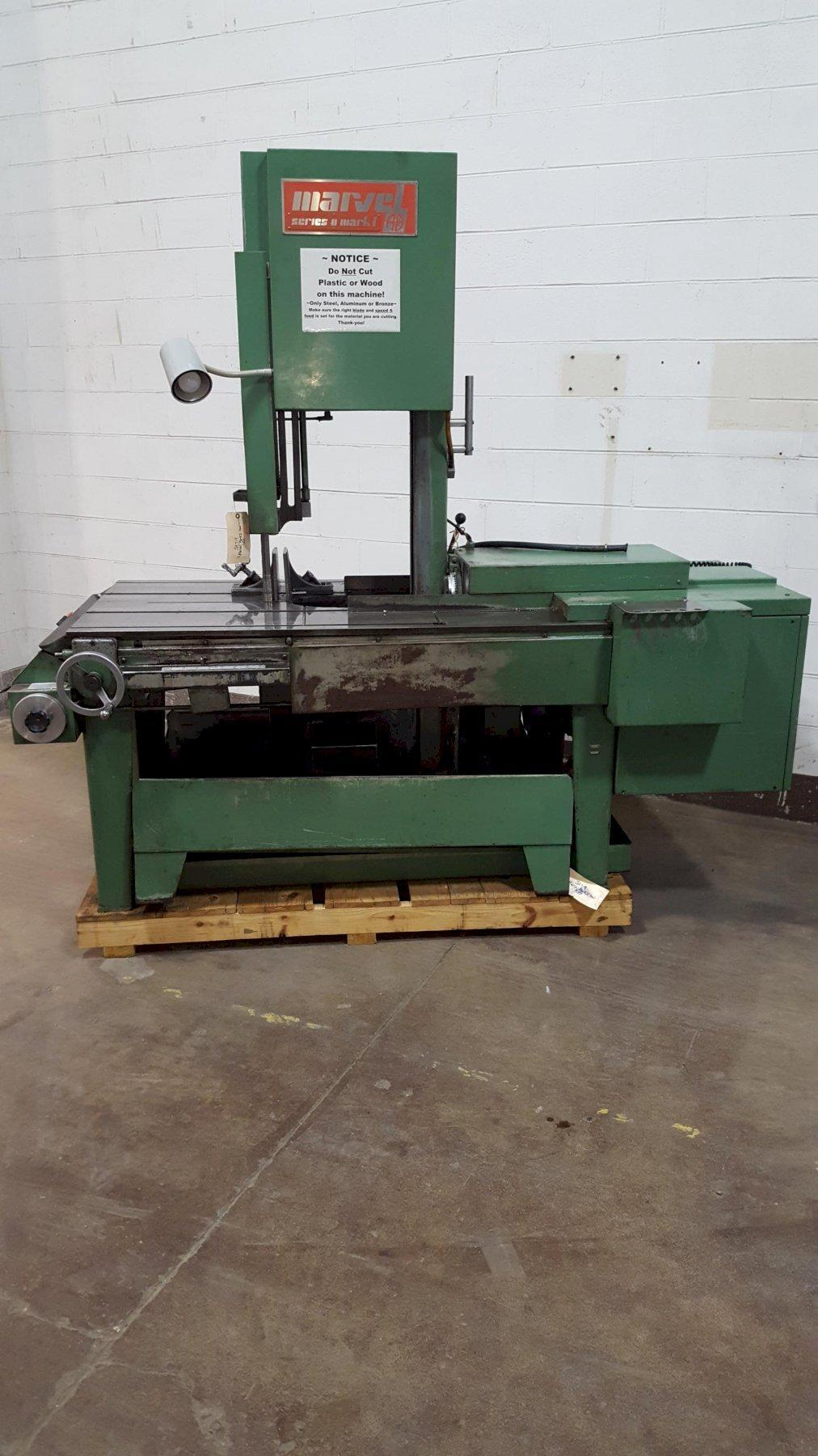 "18"" Marvel Series 8 Mark I Universal Vertical Band Saw"