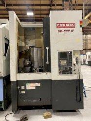 Yama Seiki GV-800M CNC Vertical Lathe