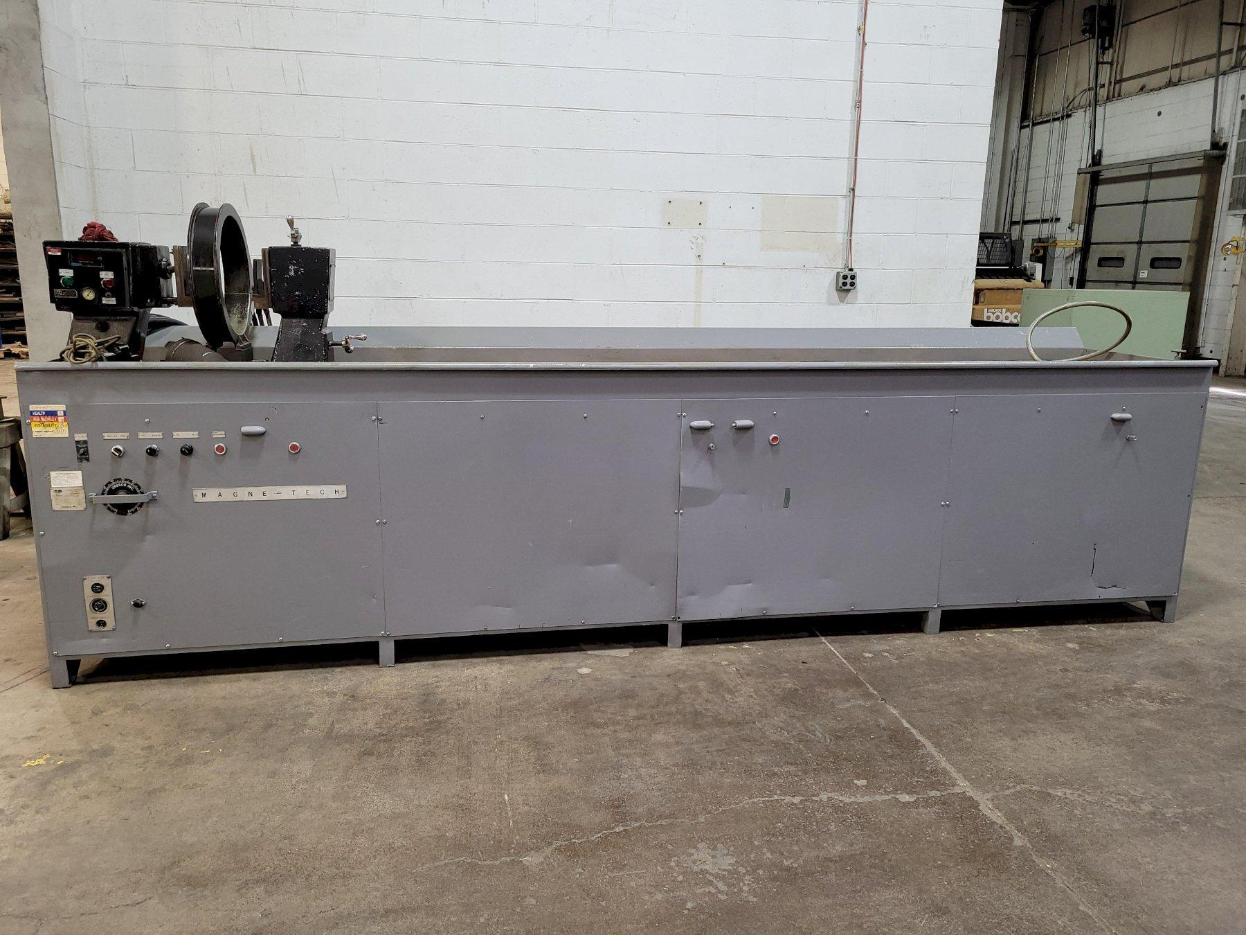 "Uresco 144"" (Magnaflux Type)  Magnetic Particle Inspection Machine Model #3509B"