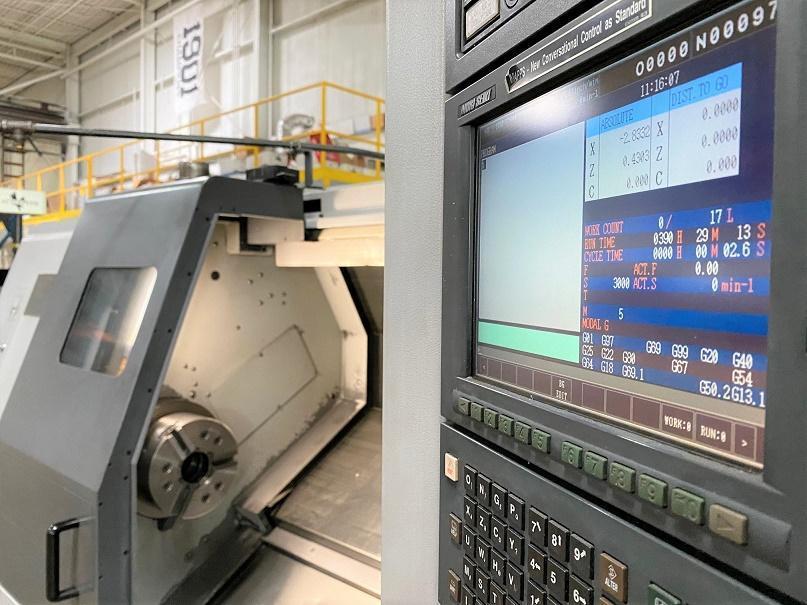 MORI SEIKI MODEL SL-253BMC1000 LIVE TOOL CNC LATHE