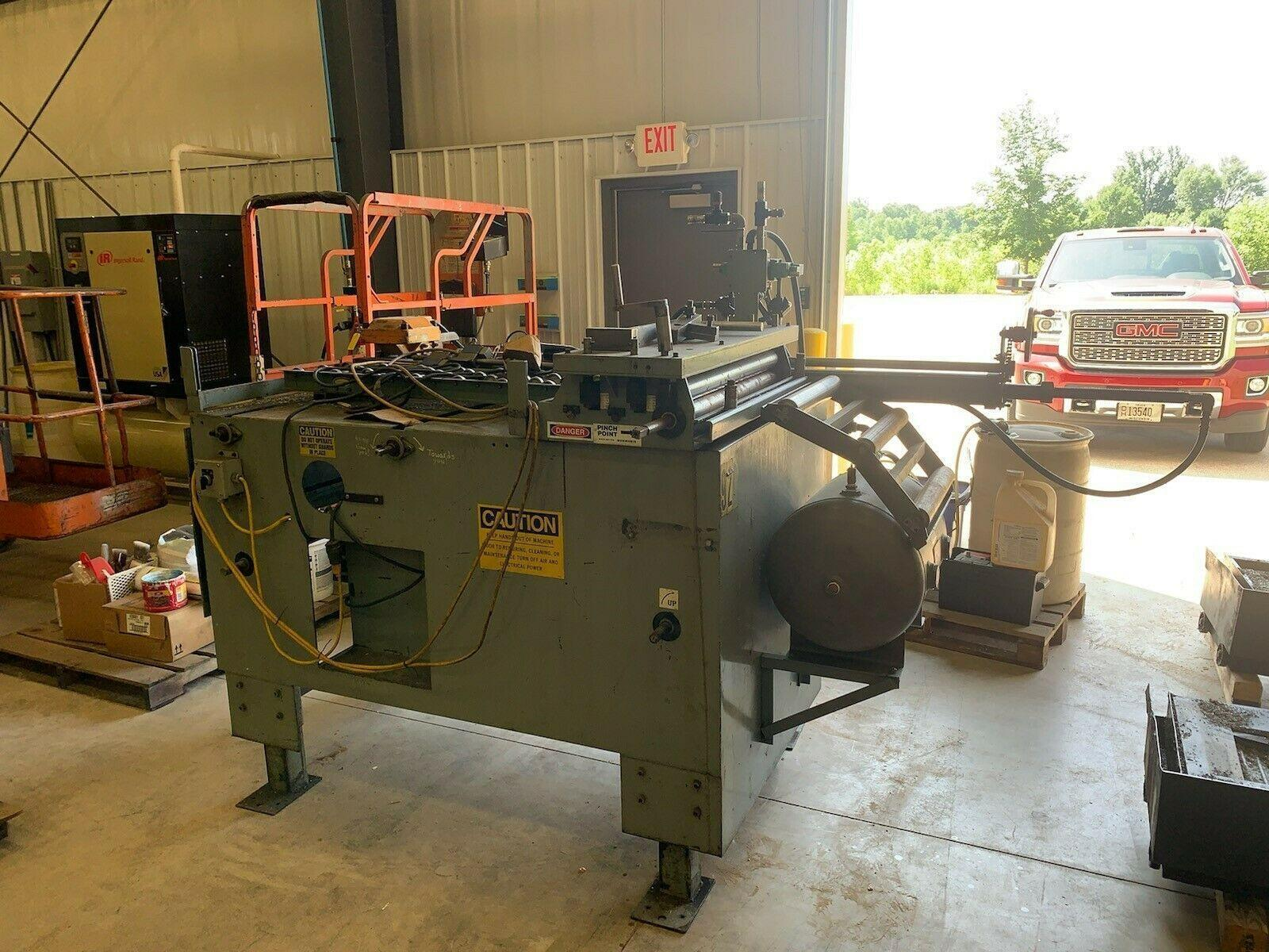 Press Line Air Feed Straightener Combination Press Feed 30