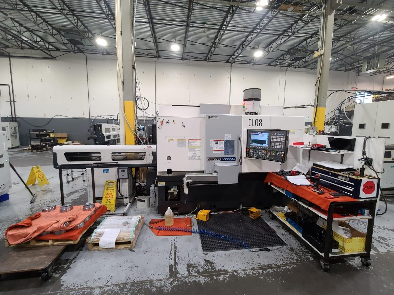 2017 Okuma Genos L300-MYW-e CNC Turning Center