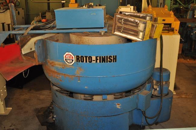 10 CUBIC FT ROTOFINISH VIBRATORY BOWL DRYER
