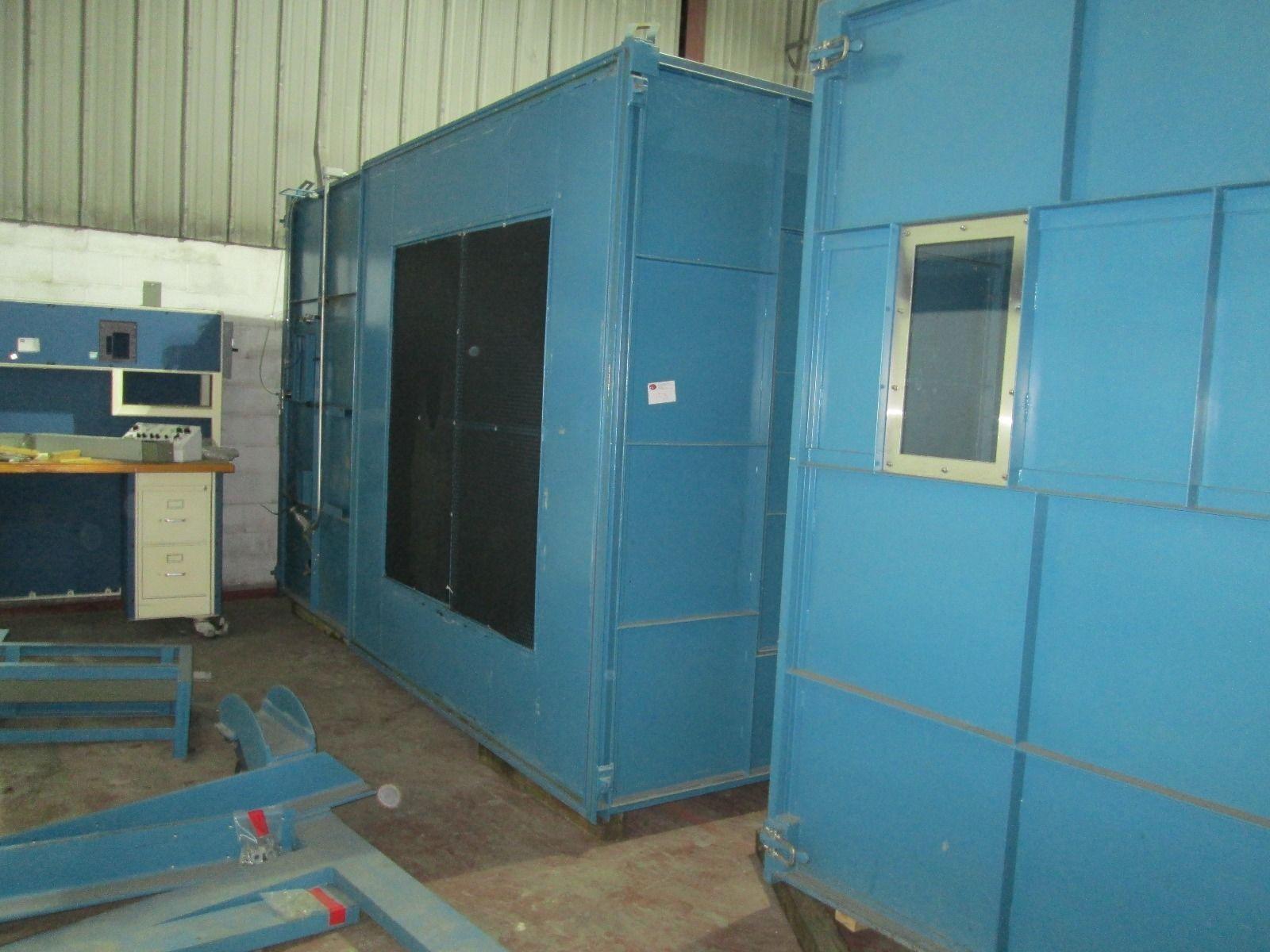 6000 CFM TORRINGTON Wind Tunnel Test Chamber