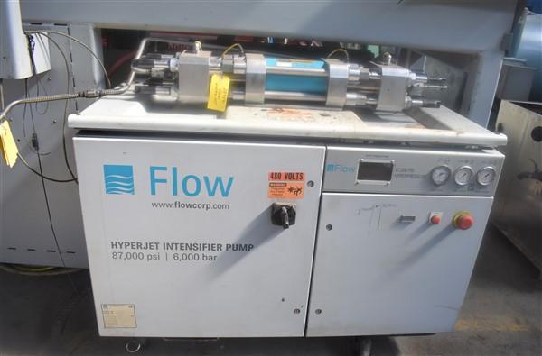 "9' X 15"" FLOW INTERNATIONAL ""MACH 4"" 4020B 5 AXIS CNC WATERJET CUTTING MACHINE"