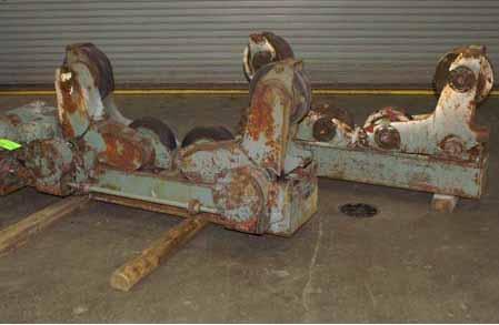 weranx, Ransome, SA-15PR/SA-7.51R, Ransome SA-15PR/SA-7.5IR Rustler 15 Ton Turning Roll Set,