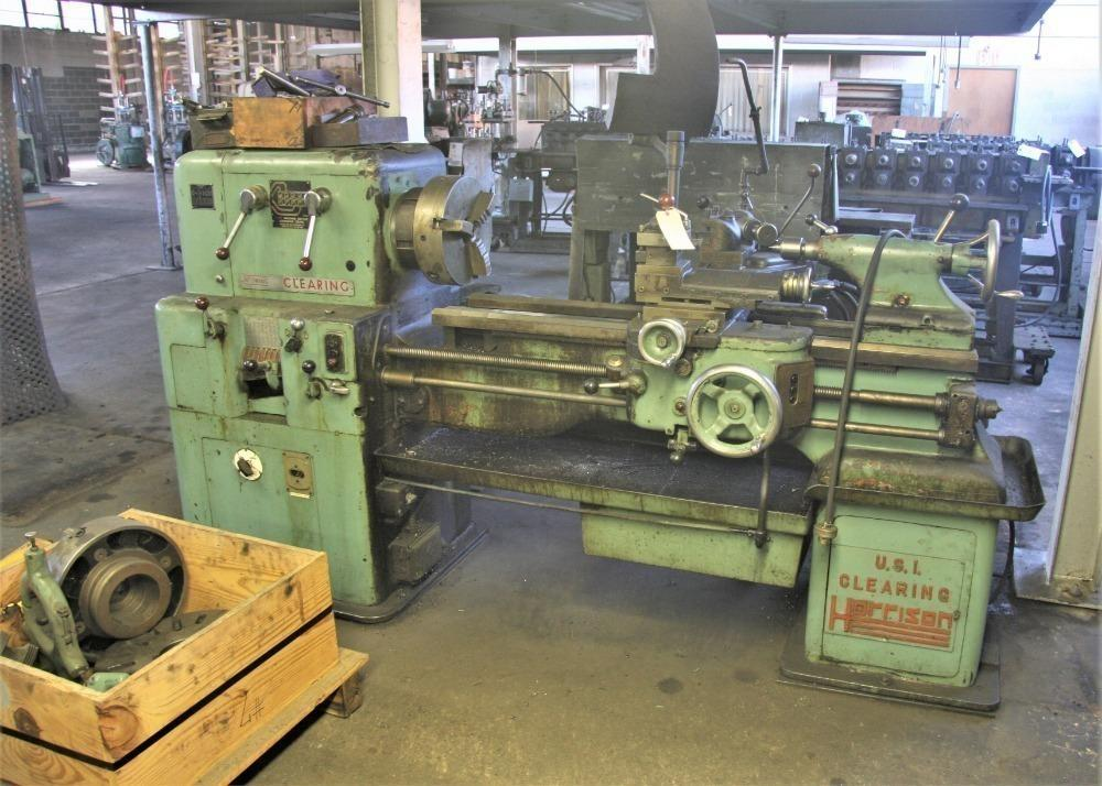 "16"" X 36"" CLEARING HARRISON GAP-BED TRACER LATHE: STOCK #13713"