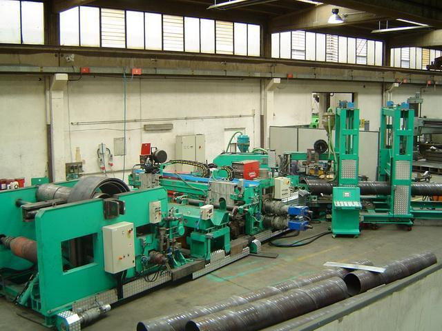 """60"""" x .394"""" (1500mm x 10mm) Spiral Pipe Mill Line (NEW CONDITION)"""