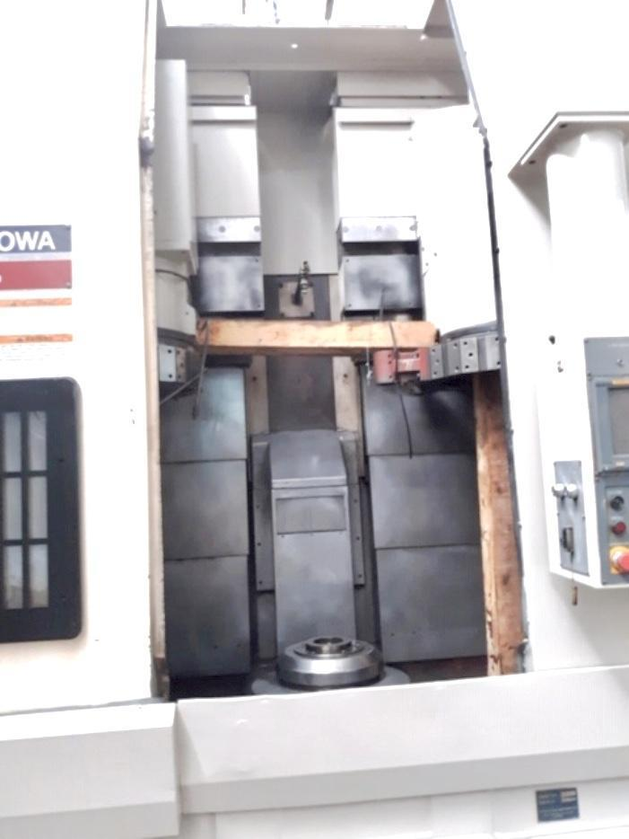 Okuma Howa VTL-45 Live Tool 4-Axis with 1-(6) Station Live Tool Turret (2) 12 Station Turrets Excellent Condition!