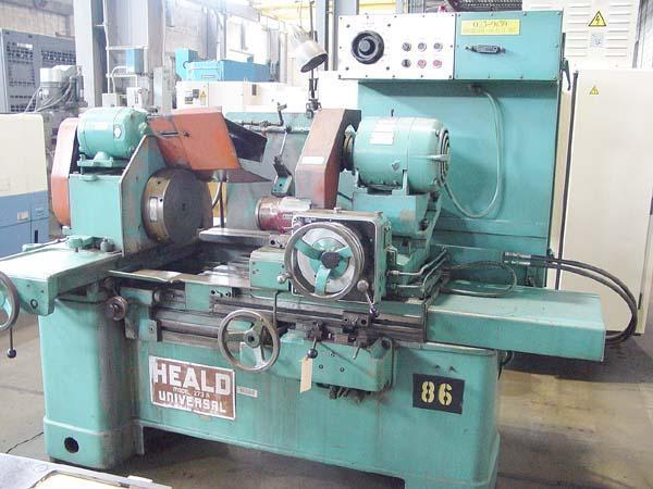 """273A HEALD Universal, 24"""" Swing over Bed, 20"""" Swing inside Guards, 30"""" Clearance, 16"""" Grinding Stroke, 10"""" Magnetic Chuck, New 1970."""