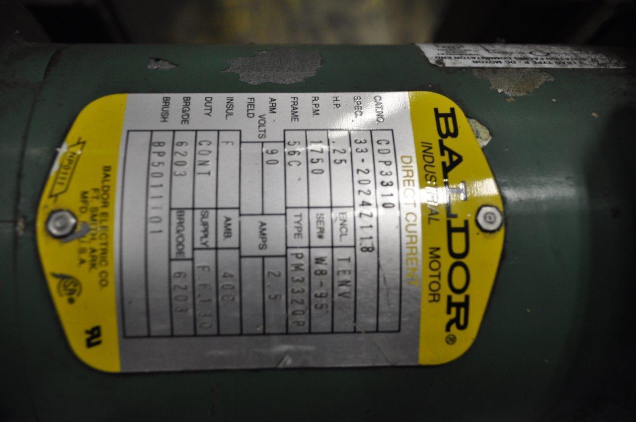 """30"""" x .065"""" Rowe Motorized Straightener"""