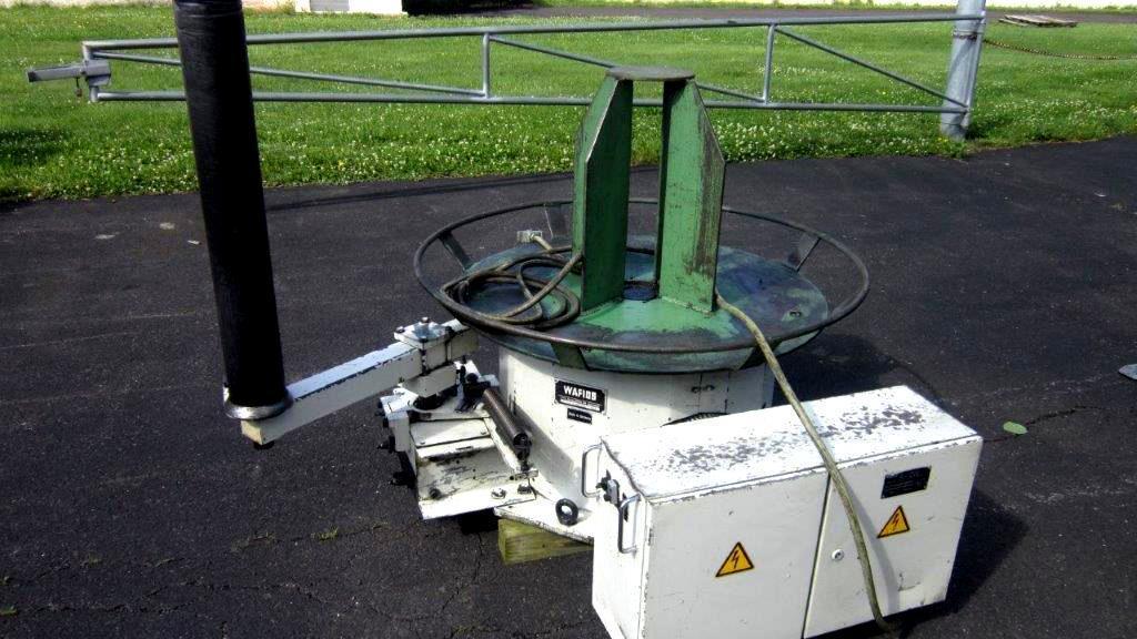 Wafios AHL 41 D Power Uncoiler