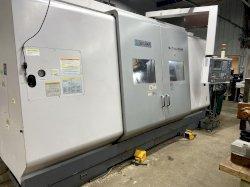 Okuma MacTurn 350W 5-Axis CNC Turn/Mill Center, OSP E100, (2) 10