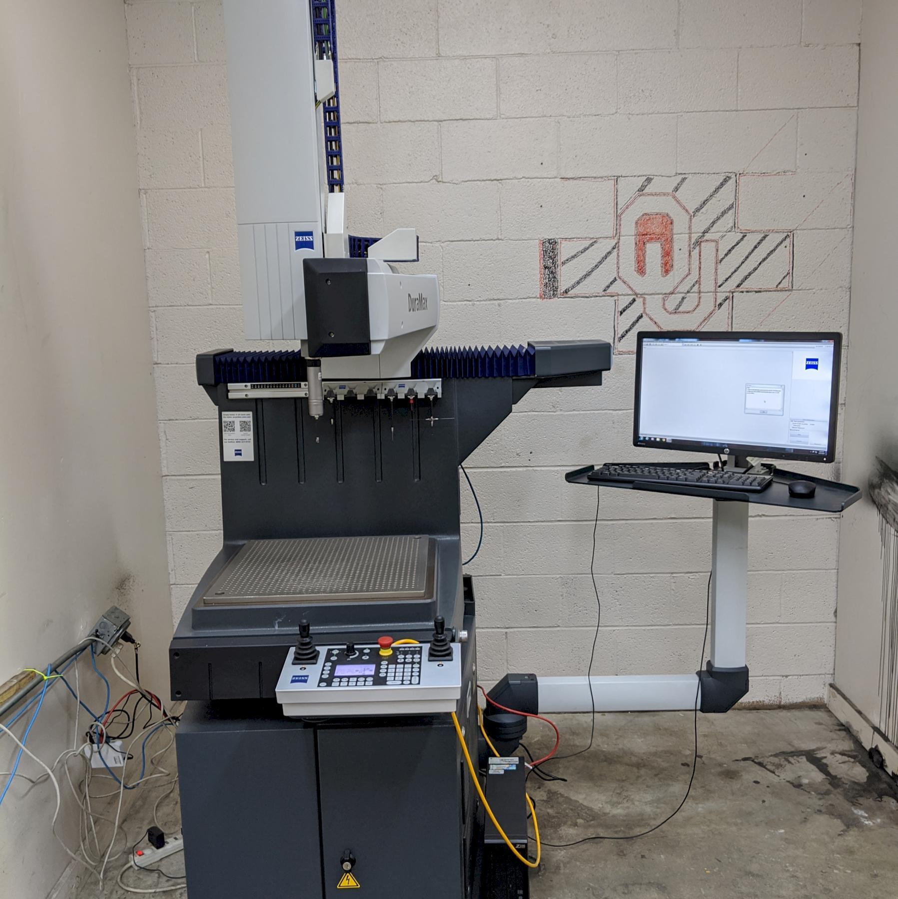 2014 Zeiss Duramax 5/5/5 CMM, Vast XXT scanning probe head