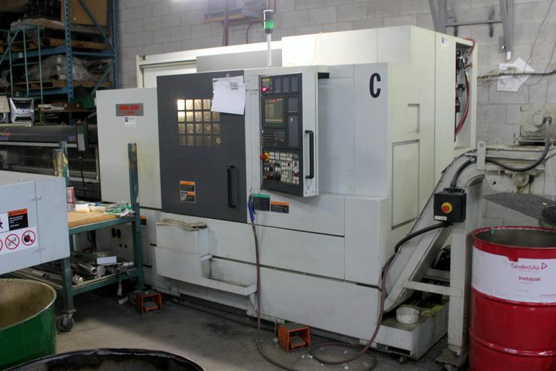 Mori Seiki NL2500SY/700 CNC Sub-Spindle, Live, Y-Axis, Live Mill, Bar Feed, MSX 850 Ctrl, Turning  Center, New 2005