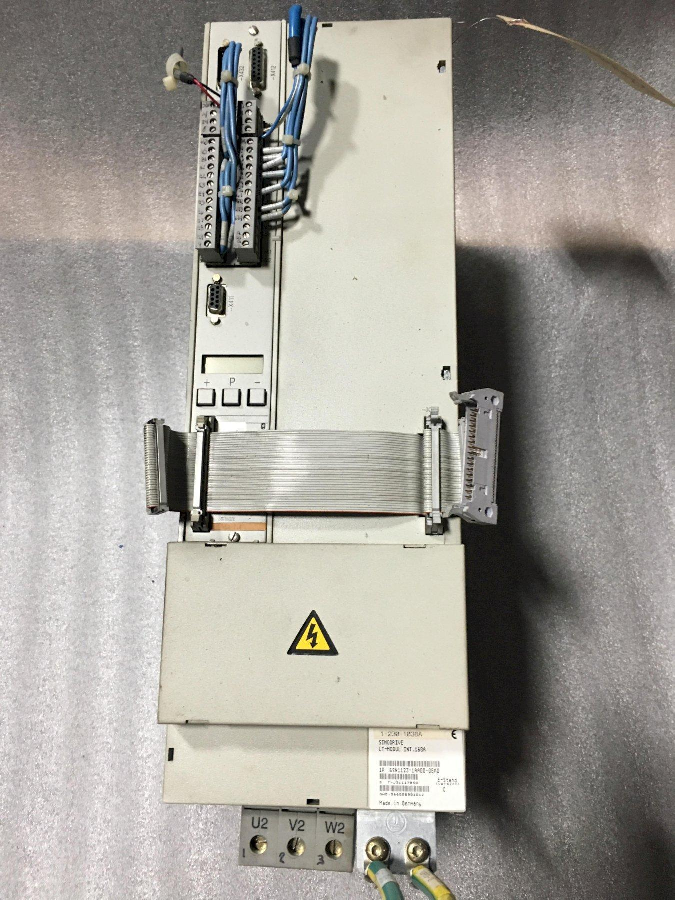 SIMODRIVE 611 LT-MODUL INT 160A, Version C, 1 Axis Power Module.