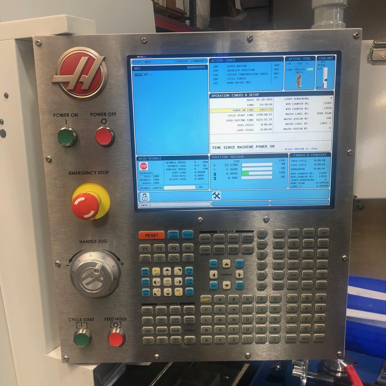 Haas VF-4 w/4th Axis Vertical Machining Center