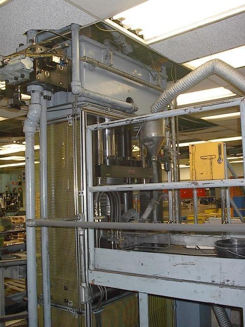 BEST PRESS 125 TON HYDRAULIC POWDER METAL COMPACTION PRESS - LATE MODEL
