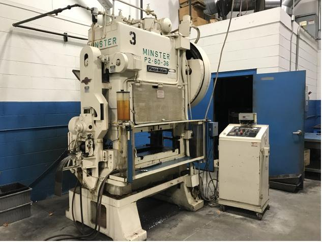 60 TON MINSTER PIECEMAKER HIGH SPEED PRESS