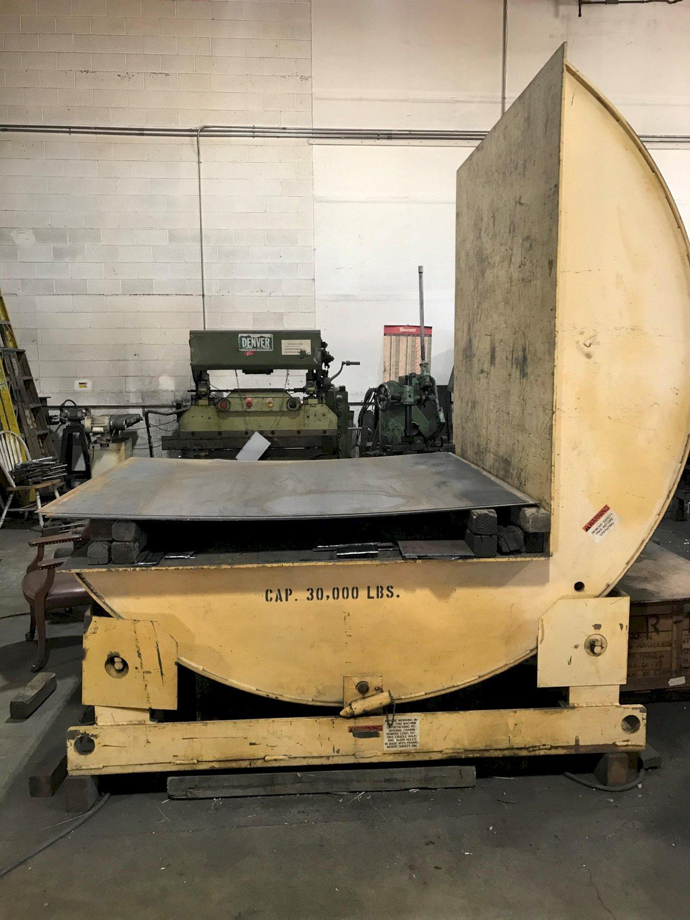 30,000 LB WEST BEND MOTORIZED COIL UPENDER: STOCK 14894