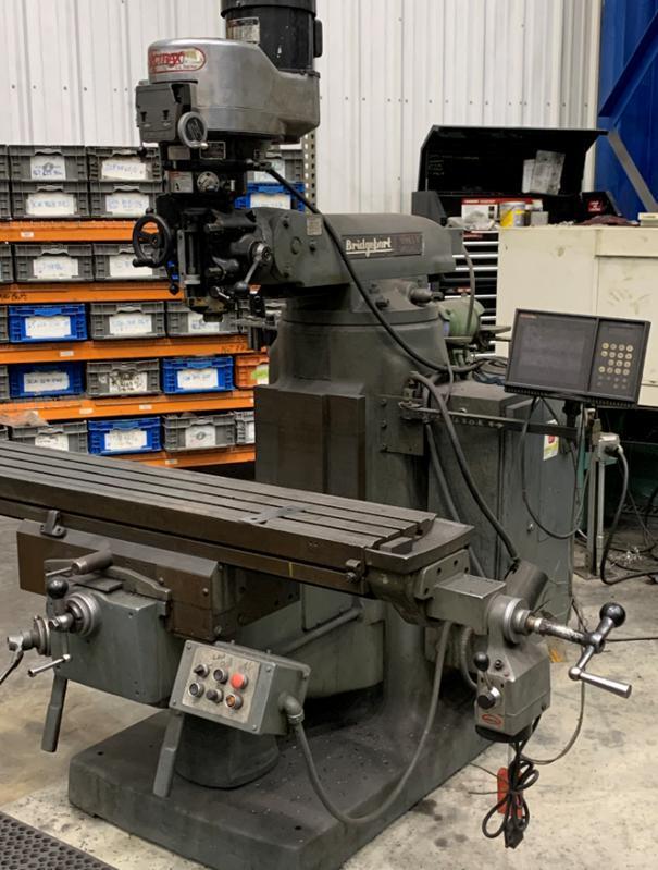 Bridgeport/Vectrax Vertical Toolroom Mill