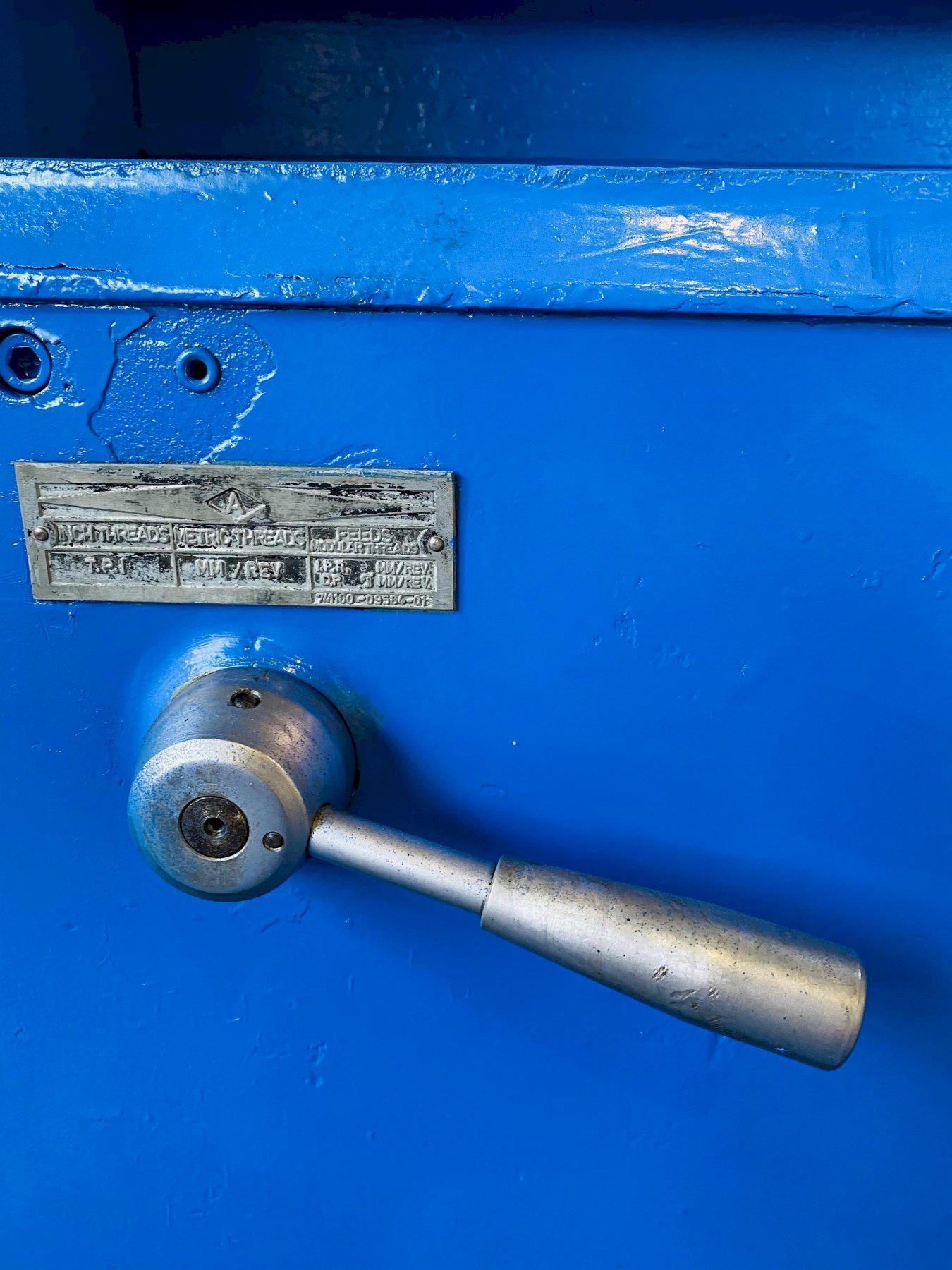 "48"" x 336"" POREBA TR115 ENGINE LATHE. STOCK # 0418021"