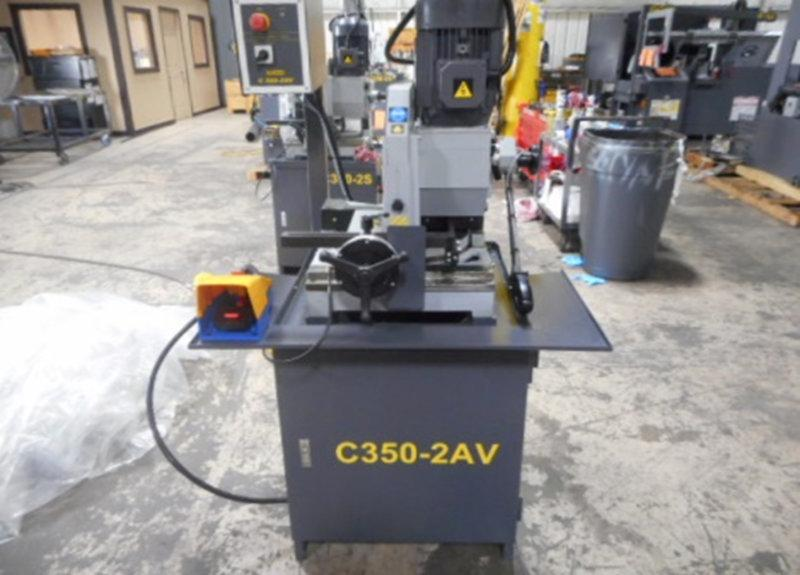 USED HYD-MECH C350-2AV HEAVY DUTY MANUAL COLD SAW, Stock No. 10574
