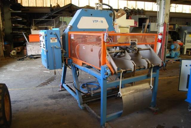 Segen, VTP-15, 15 Ton Segen VTP-15 Trim Press And Infeeder,