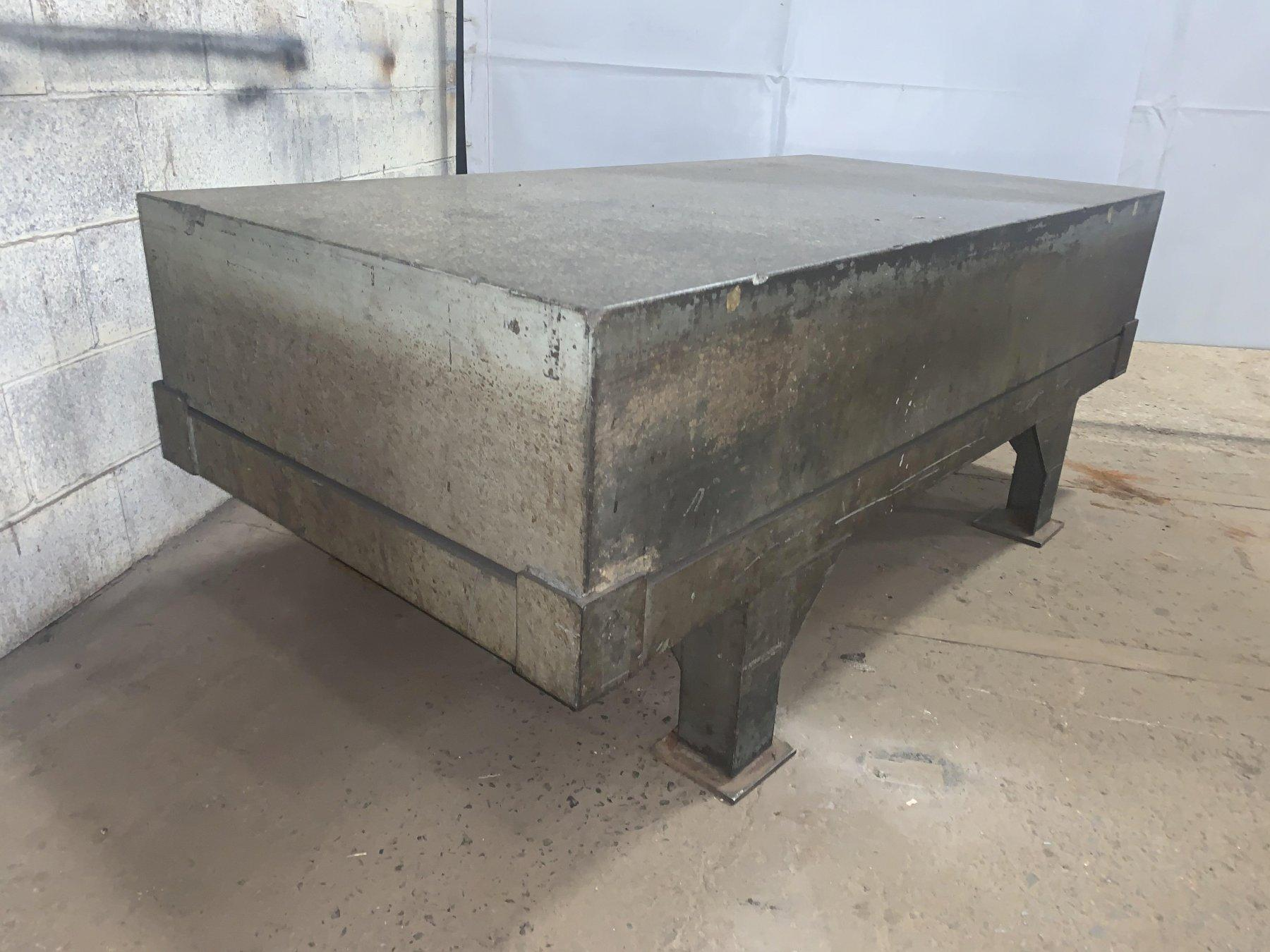 """36"""" X 72"""" X 12"""" DOALL GRADE B GRANITE SURFACE PLATE WITH STAND: STOCK  #11273"""