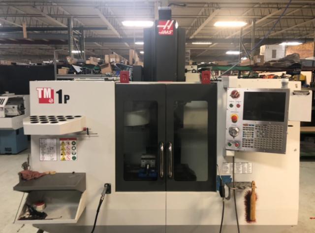 Haas TM-1P Vertical Machining Center (2016) Toolroom Mill