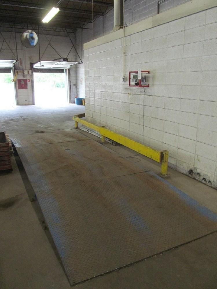 """20,000 LBS X 72"""" X 84"""" INDIANA PLATFORM SCALE WITH READOUTS: STOCK #11506"""