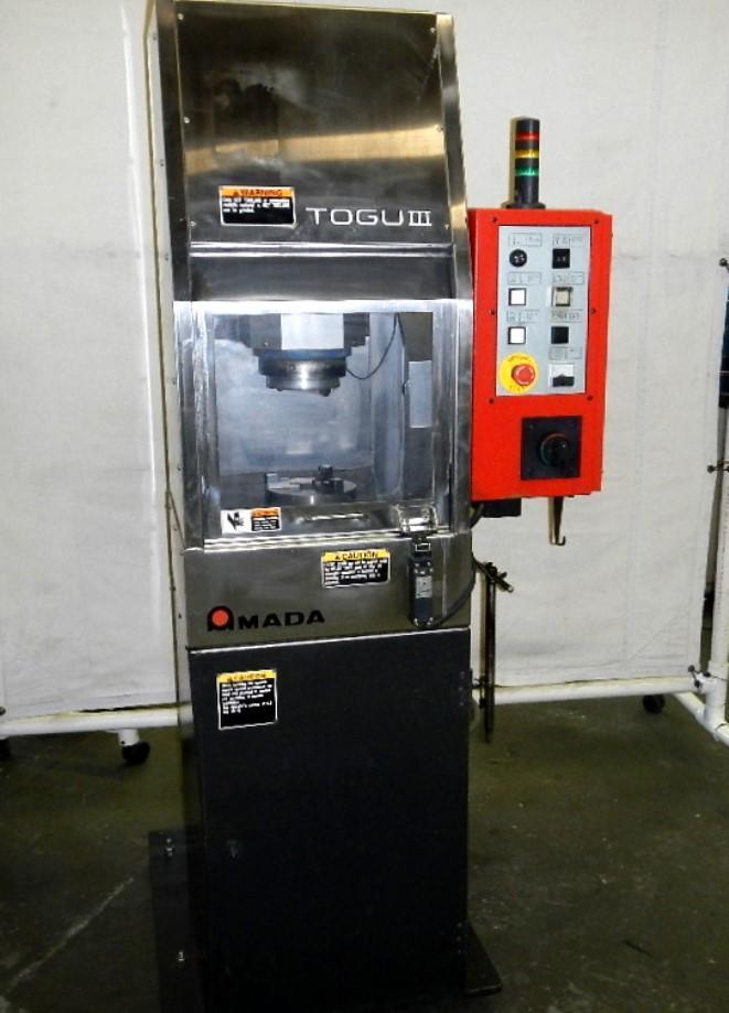 Amada Model TOGU-III Punch & Die Grinder, New 2012