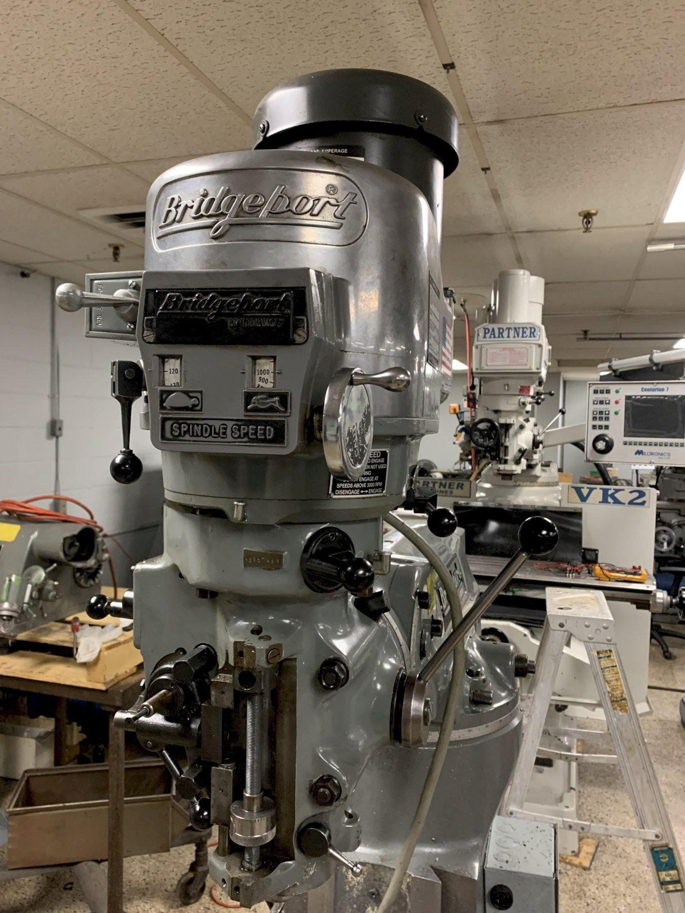 Bridgeport CNC Vertical Mill - additional details pending