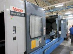 Mazak Integrex 50Y/2000 CNC Horizontal Mill/Turn Lathe