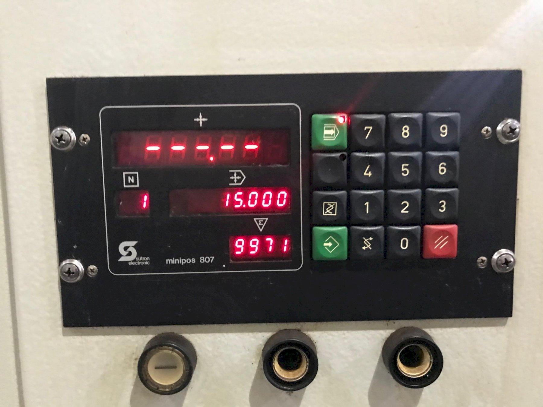 USED KASTO DUAL COLUMN AUTOMATIC HORIZONTAL BANDSAW MODEL HBA 420AU, Year 1994, Stock # 10736