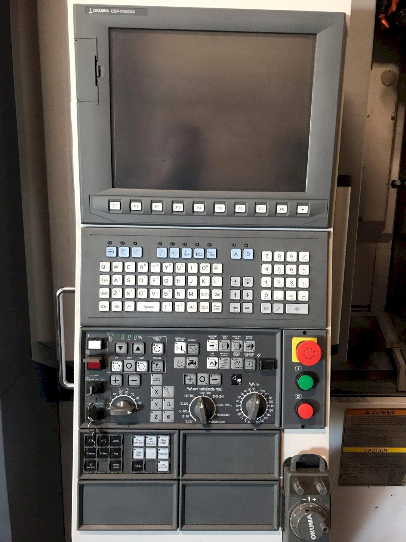 2011 OKUMA MB-4000H - Horizontal Machining Center
