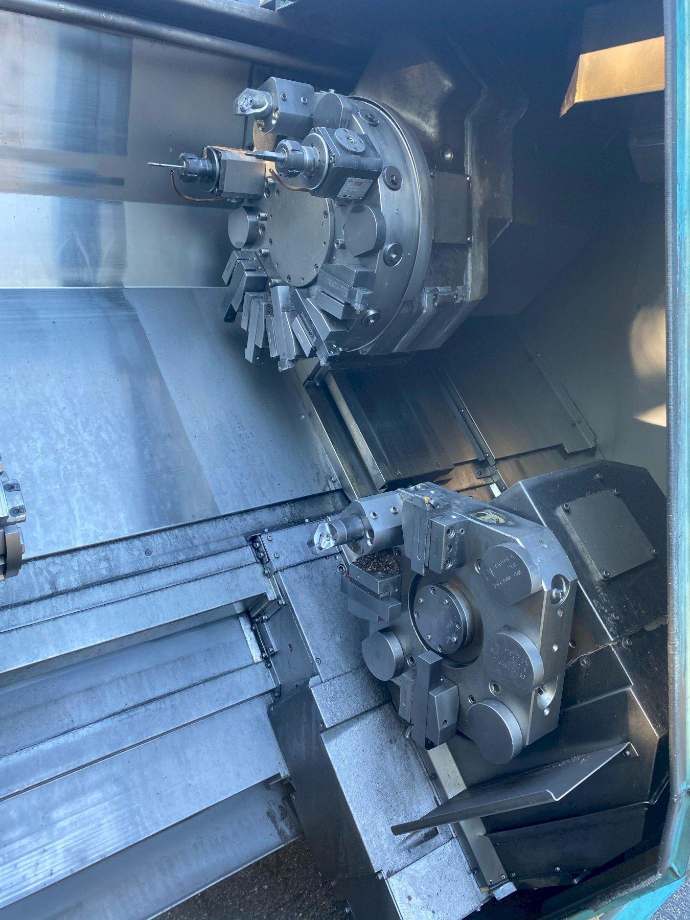 Okuma Impact LU15M CNC Twin Turret Live Tool Turning Center
