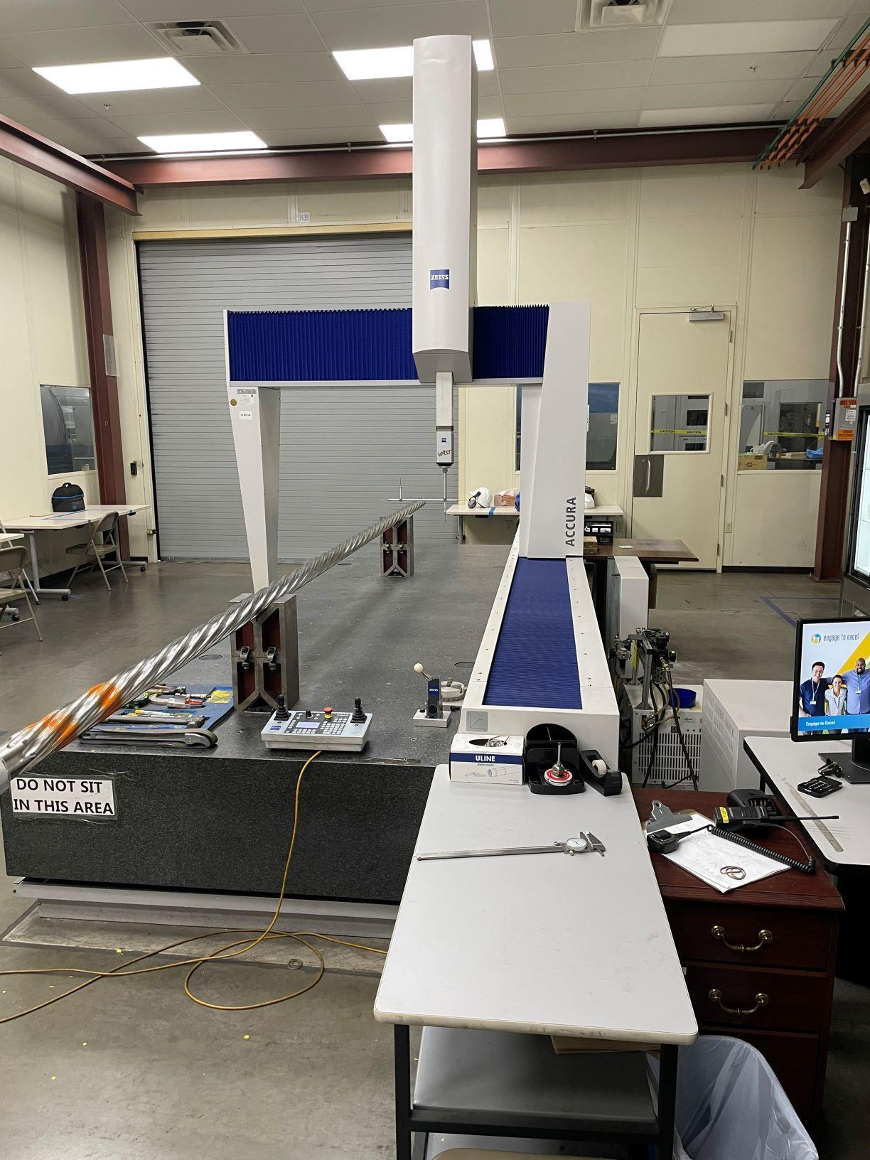 2011 Zeiss Accura 12/42/10 RDS Coordinate Measuring Machine (CMM) (#33192)