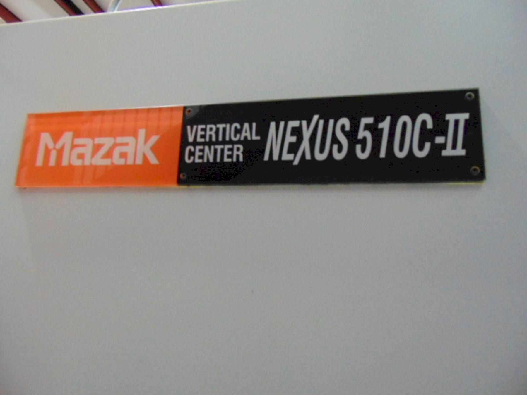 MAZAK NEXUS MDL. 510C-II CENTRO DE MECANIZADO VERTICAL CNC