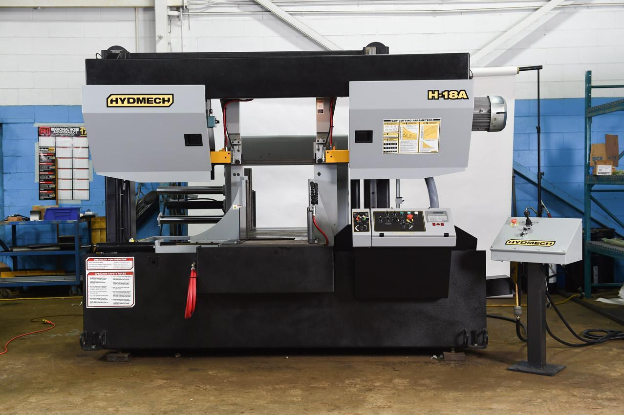 "NEW 18""H x 18""W HYD-MECH H-18A AUTOMATIC HORIZONTAL BAND SAW"