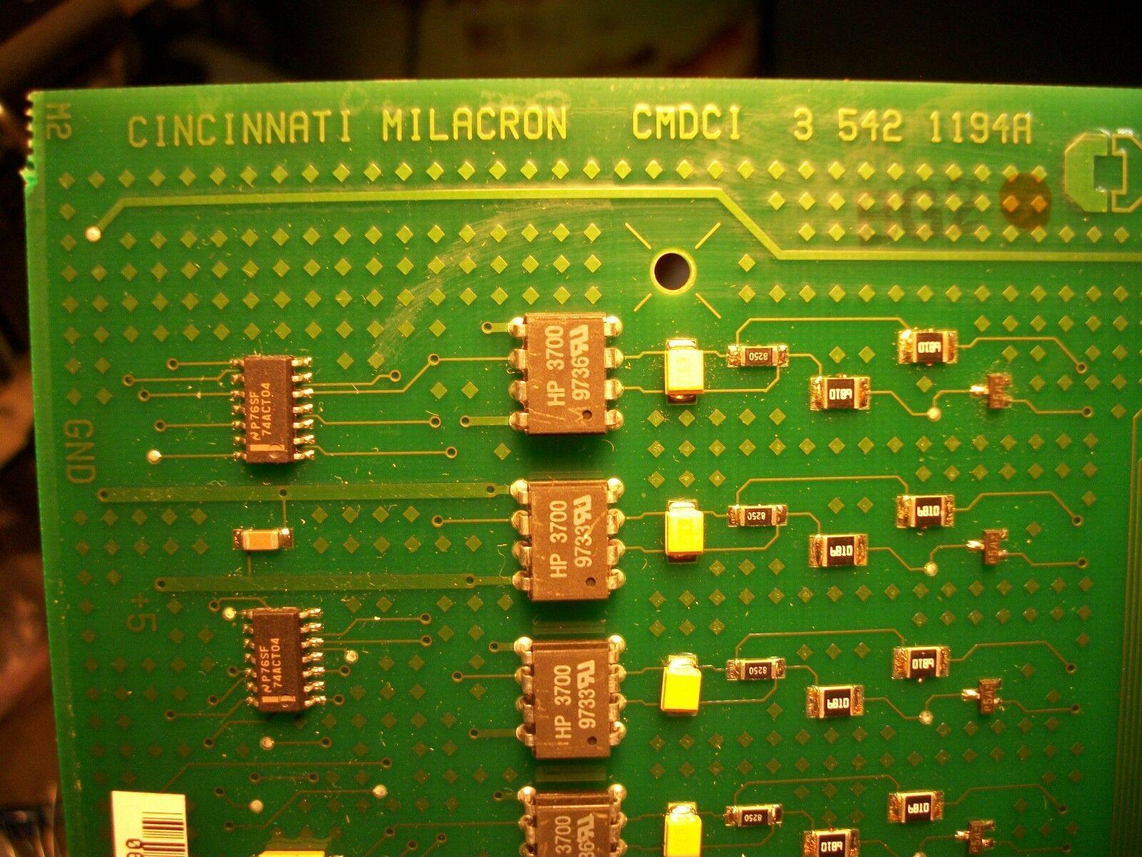 Cincinnati Milacron Siemens CNC Control Circuit Board CMDCI 3-542-1194A