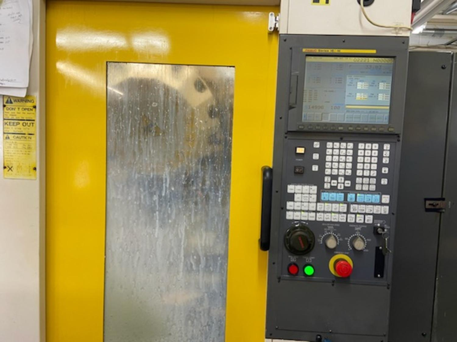 FANUC ROBODRILL MODEL #ALPHA T14IB CNC DRILLING & TAPPING MACHINE: STOCK 14515