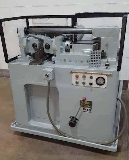 Lian Feng Sheng (Reed Type) Model LF40 Thread Rolling Machine
