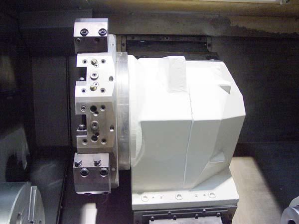 """OKUMA CADET L1420, OSP 700L CNC Control, 28"""" Swing, 18.9"""" Swing Over Turret, 31"""" Between Centers, 20HP, 3500 RPM, New 1998."""