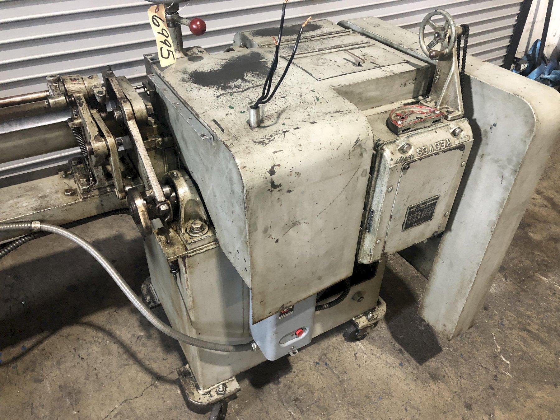 "1/8"" Shuster Model 1V18 Wire Straightener and Cutoff Machine"