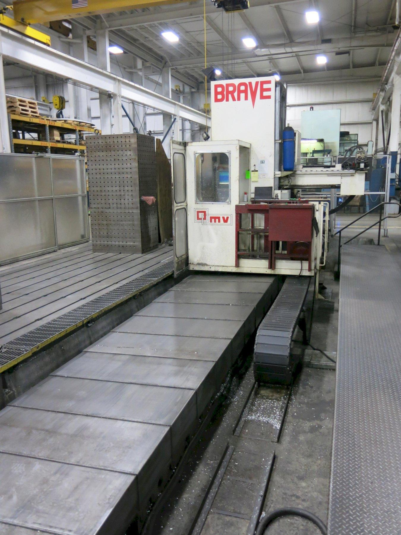 Parpas Brave CNC Boring Mill Floor Type Horizontal, with 5-Axis Head, ATC, New 2006