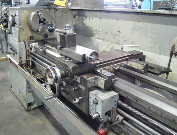 """21"""" x 120"""" CLAUSING COLCHESTER, Model 21"""", 21"""" Swing over Bed, 14-1/2"""" Over Cross Slide, 120"""" Centers , Steady Rest, Taper Attachment, Inch/Metric Threading, 3-Jaw, 4-Jaw, High Speed Threading, Aloris Tool Post, New 1971"""