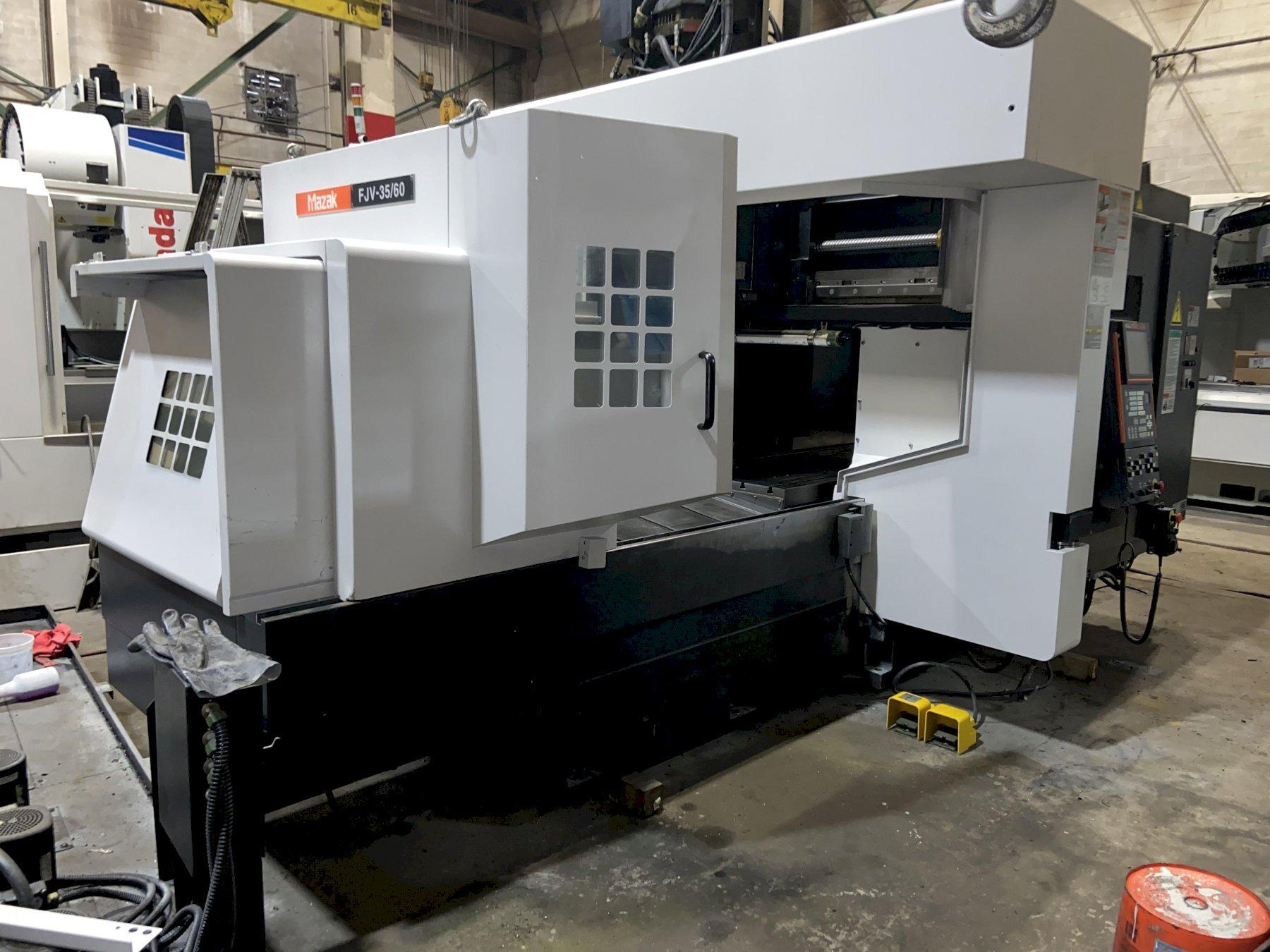 Mazak FJV 35/60 Precision CNC Bridge Type Vertical Machining Center